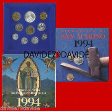 SAN MARINO 1994 - SERIE MONETE  DIVISIONALE - MARINO IL SANTO
