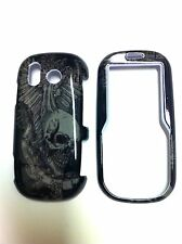 SAMSUNG INTENSITY/DOUBL U450 SKULL GLOSSY  PROTECTOR COVER  NEW