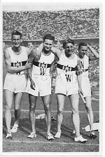 WWII GERMAN- Large 1936 OLYMPIC Photo Image- Sports- German 1600m Relay Team