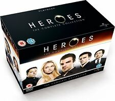 Heroes: Complete Season 1 2 3 & 4 Box Set Collection | New | Sealed | DVD
