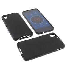 Tasche für Alcatel One Touch Idol 4 Handytasche Schutz Hülle TPU Gummi Schwarz