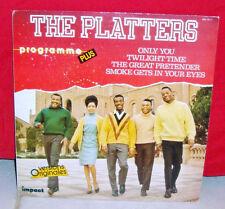 DISQUE VINYLE 33T LP - THE PLATTERS