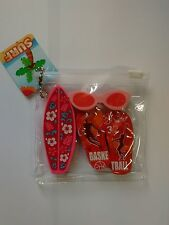 Eraser, Gomas de Borrar Surf Beach Escritorio,  Animals, NUEVO / NEW