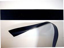 Goma De Látex recortar tiras.50 mm, de 20 mm x 200 cm, Negro