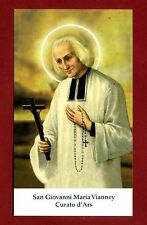 SANTINO - HOLY CARD- IMAGE PIEUSE -   S.Giovanni Maria Vianney Curato d'Ars