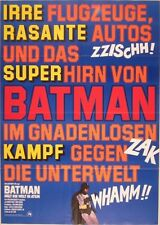 BATMAN THE MOVIE (1966) German A1 movie poster A R75  ADAM WEST RARE NM