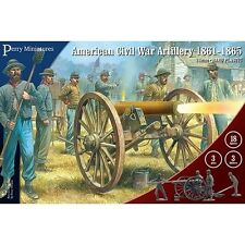 American Civil War Artillery 1861-1865 Perry Miniatures 28mm Plastic ACW 105