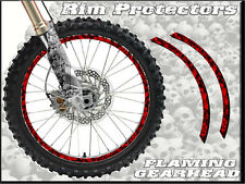 10 & 12 INCH DIRT BIKE RIM PROTECTORS WHEEL DECALS TAPE GRAPHICS MOTORCYCLE