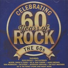[NEW] CD: CELEBRATING 60 YEARS OF ROCK: THE 60S