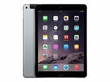"""Apple iPad Air 2 9.7"""" Tablet 64GB Wi-Fi + Cellular -Space Gray (MH2M2LL/A)"""