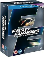 Fast & Furious 1-7 Blu-ray Box Set The 7 Movie Collection 1 2 3 4 5 6 & 7 +HD UV