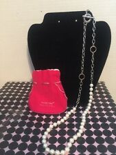 MARY KAY POWER START PLUS PEARL NECKLACE WITH BAG / MARY KAY PEARL NECKLACE