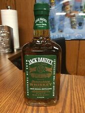 RARE JACK DANIELS 375ML GLASS OLD VERSION GREEN LABEL -NO FIRE / RYE / GOLD