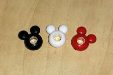 *ON SALE* Set of 3 Disney Mickey Mouse Iconic Face charm for  European Bracelets