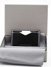 ALEXANDER MCQUEEN Polished-Leather Cardholder Made in Italy