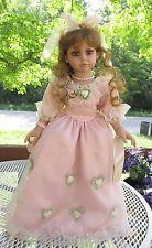 """Amber Vinyl  doll Cracker Barrel Exclusive-American Classics  22"""" Beautiful!"""