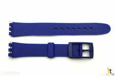 12mm Ladies Blue Replacement Watch Band Strap fits SWATCH watches