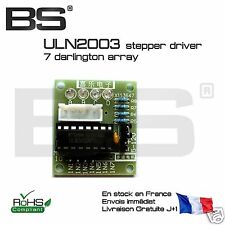 ULN2003 unipolar stepper driver Arduino stm32 raspberry pi  France exped J+0