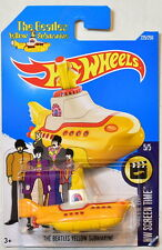 HOT WHEELS 2016 HW SCREEN TIME 5/5 THE BEATLES YELLOW SUBMARINE