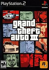 Grand Theft Auto iii 3 - PS2 Complete no map