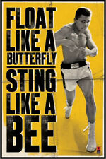 Muhammad Ali POSTER Float Like a Butterfly Sting Like a Bee Quote Boxing NEW