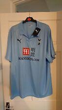 Tottenham Hotspur Spurs Sky Blue 2008/2009 Away Shirt Jersey - XXL - Brand New!!