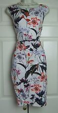 PHASE EIGHT MARGUERITE FLORAL PRINT STRETCH PARTY DRESS SIZE 12 BNWT RRP £89