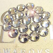 144 Swarovski Rhinestones Crystal Flatback 8ss, ss8 CRYSTAL CLEAR