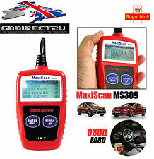 Voiture fault code reader engine diagnostic scanner outil de réinitialisation de l'obd 2 can bus eobd uk