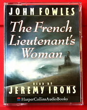 John Fowles The French Lieutenant's Woman 2-Tape Audio Book Jeremy Irons