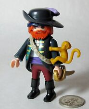Playmobil 6840 Mystery Figure Series 10 Pirate Ships Captain Hat Sword Monkey