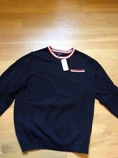 NWT Brooks Brothers Boys' Sweater, Cotton/Wool, Navy, boy's Large