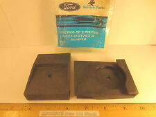 "2 PCS 1 FORD BAG 1988 (FROM 10/87) MUSTANG ""BUMPER"" NOS FREE SHIPPING"
