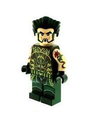 Custom Minifigure Ra's Al Ghul (Arkham City Batman) Printed on LEGO Parts
