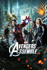 The Avengers Assemble One Sheet POSTER 61x91cm NEW * Thor Hulk Iron Man Captain