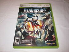 Dead Rising (Microsoft Xbox 360) Original Release Game Complete Excellent!