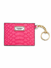 BNWTS VICTORIA'S SECRET PINK  Card Case  WITH KEY RING