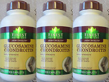 Finest Natural Glucosamine Chondroitin 1500mg/1200mg Triple Strength 720ct