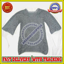 Butted Aluminium Chainmail Shirt, Aluminum Chain Mail Armor Cosutme for Sale New
