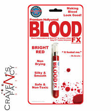 Tinsley Transfers Fx Professional Stage Blood Fake Hydrophobic Halloween 8.2g