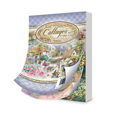 Hunkydory The Little Book of COTTAGES & VILLAGE SCENES LBK175 144 A6 Sheets