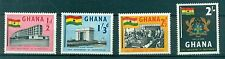 ARMOIRES & FLAG - NATIONAL COAT & FLAG GHANA 1958 Independence 1st Anniversary
