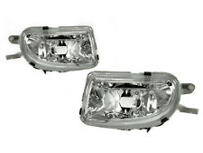 Depo 98-00 Mercedes C-Class W202 AMG C43 Replacement Crystal Glass Fog Lights