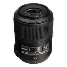 NEW Nikon AF-S DX Micro Nikkor 85mm f/3.5G ED VR Lens for Nikon DX US Model