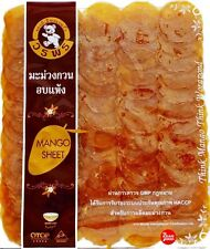 Mango Sheet Chewing Dried Thai Food Snacks Supply Camping Delicious New 250 g