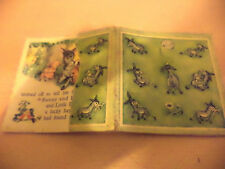 DINKY DONKEY OLD VINTAGE 1950S ? CHILDRENS SMALL MINI BOOK RAPHAEL FATHER TUCK