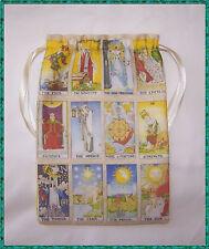 Major Arcana Tarot Card borsa, ideale per Fata Angel & Wicca Tarocchi