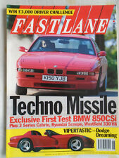 Fast Lane Jun 1993 850CSi, Maserati Ghibli, Dodge Viper