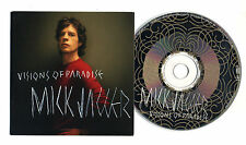 Cd PROMO MICK JAGGER Visions of Paradise Promotional single The Rolling Stones