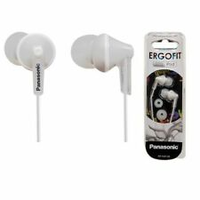 Panasonic Ergofit RP-HJE125 Stereo In Ear Canal Earphones Headphones White